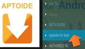 Aptoide for Kodi