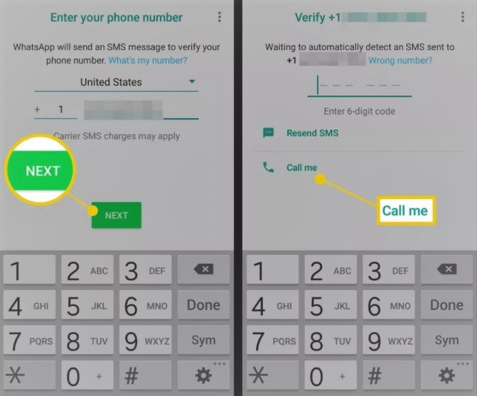 How to Use Whatsapp Using Your Landline Number