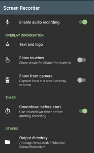 Record Whatsapp video calls on Android