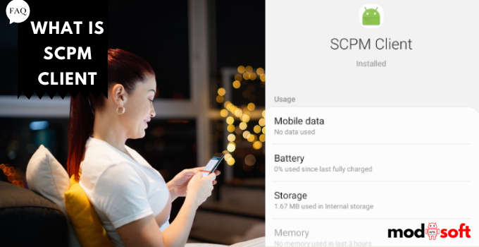 What is SCPM Client and what is it for Android?