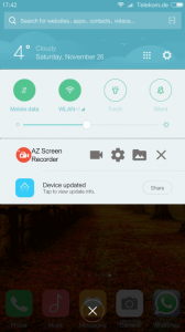 Whatsapp video calls on Android Screen Recorder