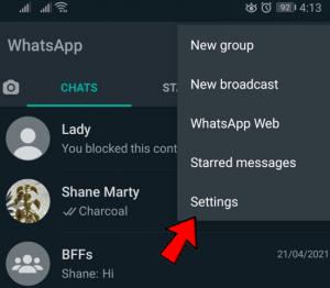 chat setting